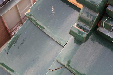 屋根の部分修理